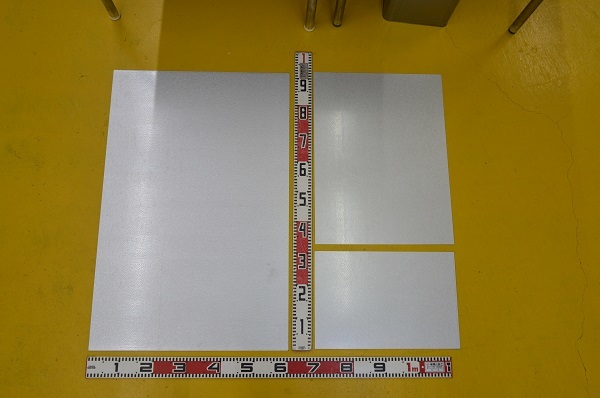 鉄 ガルバリュウム鋼板 (0.35~1.2mm厚)の(914x600~450x300mm)定寸・枚数販売F11_画像1