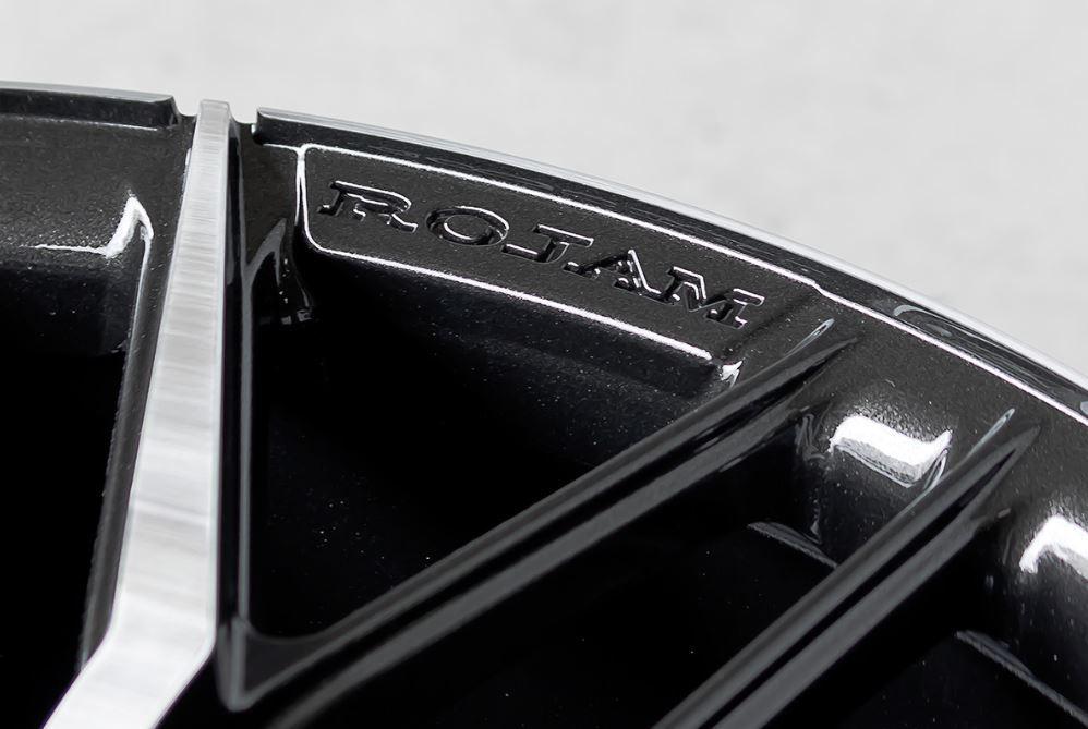 ROJAM FASTER 9.0J-22 +38 5H-114.3 4本 アルファード ヴェルファイア ハリアー レクサスNX レクサスRX スカイラインクロスオーバー_画像3