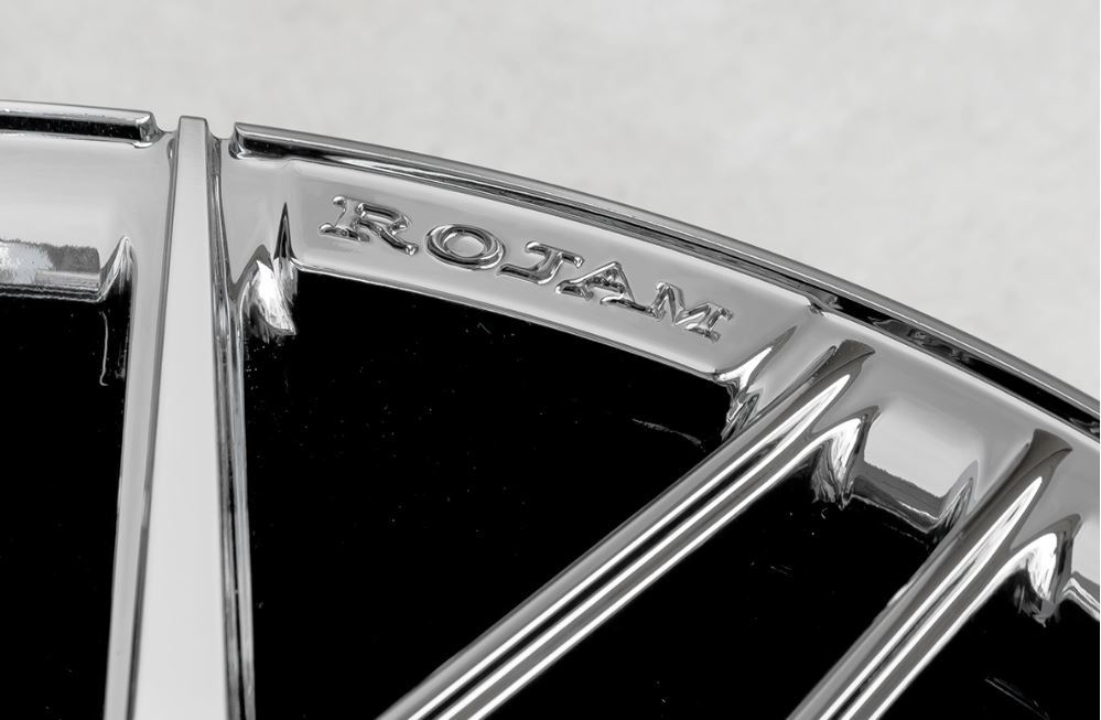 ROJAM FASTER 9.0J-22 +38 5H-114.3 4本 アルファード ヴェルファイア ハリアー レクサスNX レクサスRX スカイラインクロスオーバー_画像7
