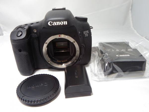 【極上美品】キヤノン キャノン Canon EOS7Dボディー ショット数 43155回