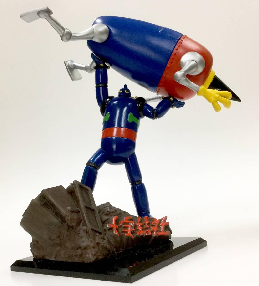 鉄人28号対モンスター 彩色済み ガレージキット ボークス 1980年代…? 光プロ レジンキャスト 人形