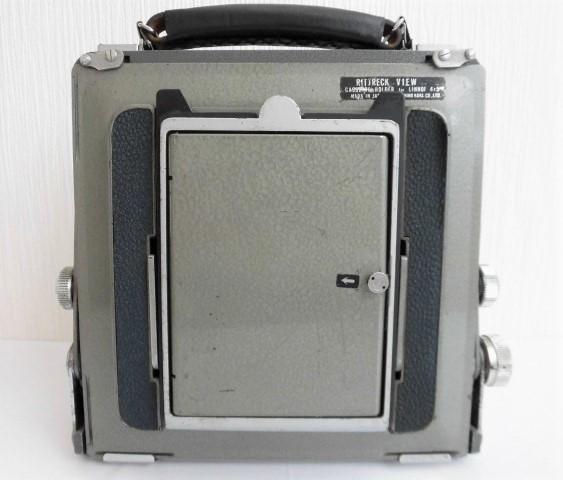 希少 武蔵野光機/RITTRECK VIEW リトレックビュー 4×5 大判カメラ 良品