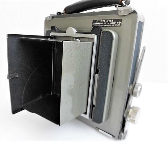 希少 武蔵野光機/RITTRECK VIEW リトレックビュー 4×5 大判カメラ 良品_画像2