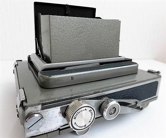 希少 武蔵野光機/RITTRECK VIEW リトレックビュー 4×5 大判カメラ 良品_画像9