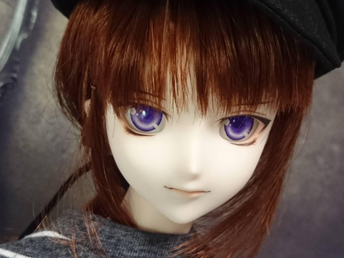 ◆sepia blue◆ DDH-07 SW肌 カスタムヘッド+アイ_画像3