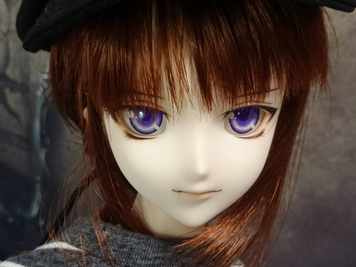 ◆sepia blue◆ DDH-07 SW肌 カスタムヘッド+アイ_画像5