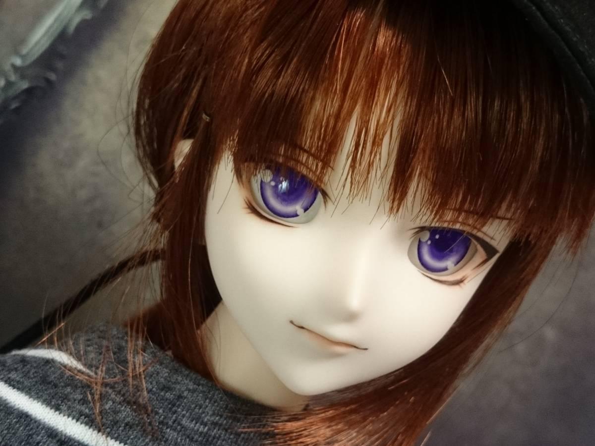 ◆sepia blue◆ DDH-07 SW肌 カスタムヘッド+アイ_画像9