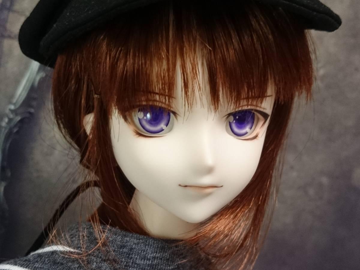 ◆sepia blue◆ DDH-07 SW肌 カスタムヘッド+アイ