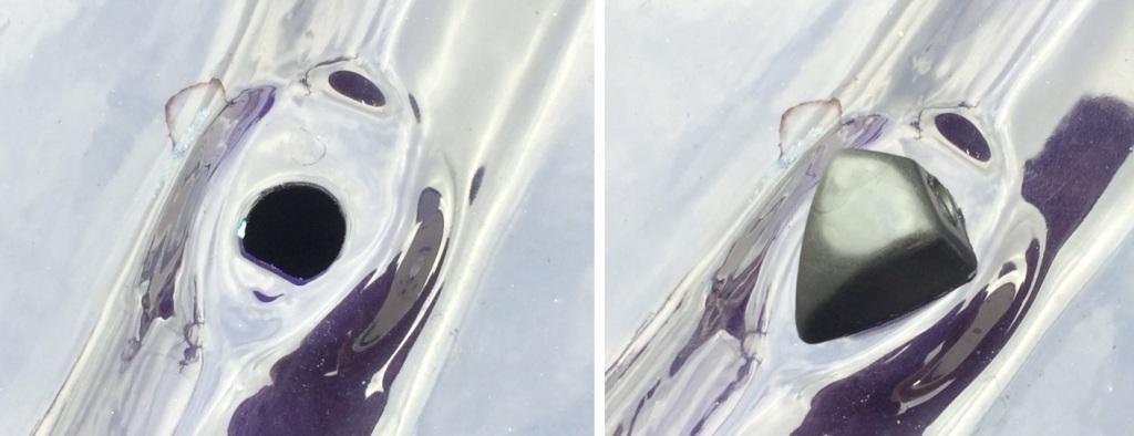 新品!旧車向け、2穴ウインドウウォッシャーノズル、10Φ用、旧車レトロ・ノスタルジックヒーロー・オールドタイマー・Gワークス_画像5