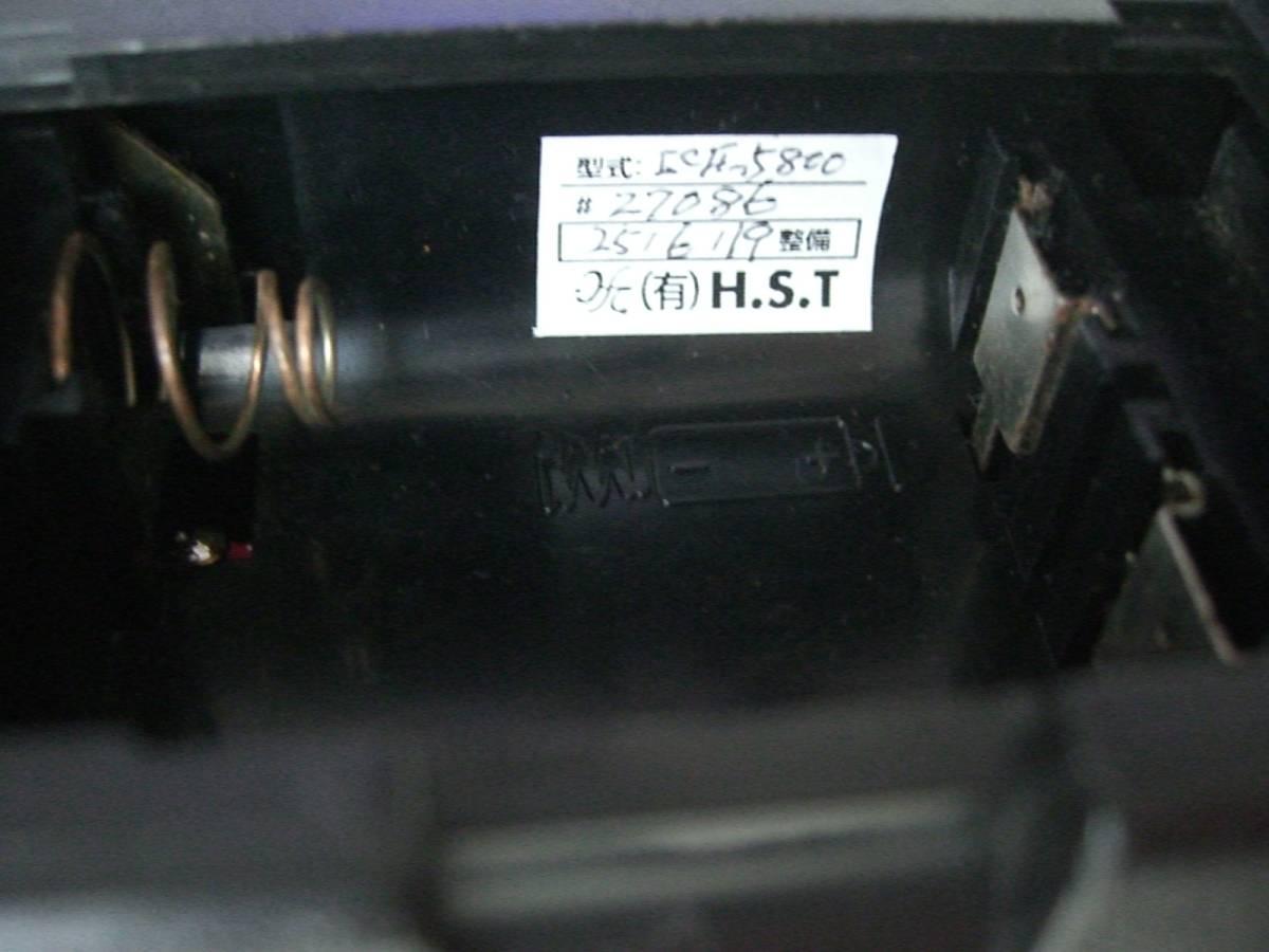 ジャンク SONY BCLラジオ スカイセンサー ☆☆ICF-5800☆☆ ハイソニックテクニカル社整備品購入_画像5