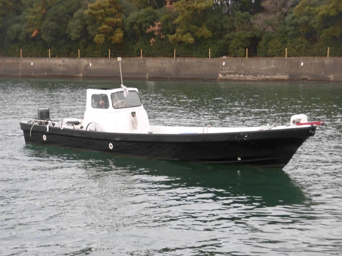 【愛知県】地場和船25ft(2スト40馬力搭載)即乗り可能_画像2