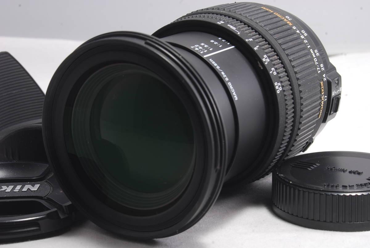 ◆珍貴◆SIGMA Sigma DC 17-70 mm F 2.8-4.5 MACRO HSM F安裝廣角大光圈948 編號:r249958361