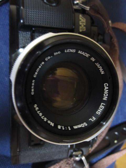 CANON キャノン A1 作動品 レンズ完備 _画像7