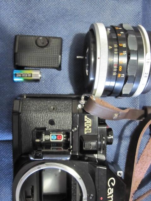 CANON キャノン A1 作動品 レンズ完備 _画像10