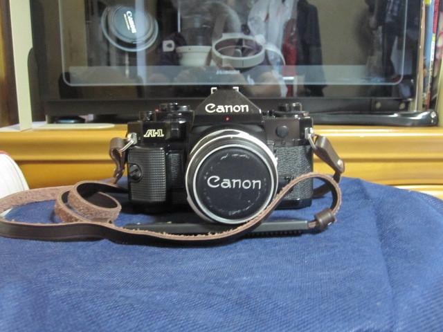 CANON キャノン A1 作動品 レンズ完備