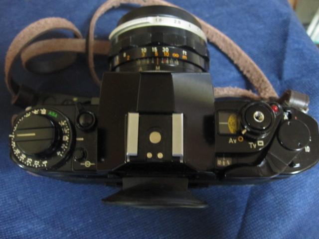 CANON キャノン A1 作動品 レンズ完備 _画像4