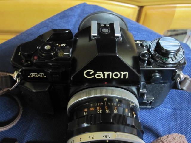 CANON キャノン A1 作動品 レンズ完備 _画像2