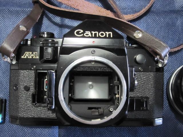CANON キャノン A1 作動品 レンズ完備 _画像9