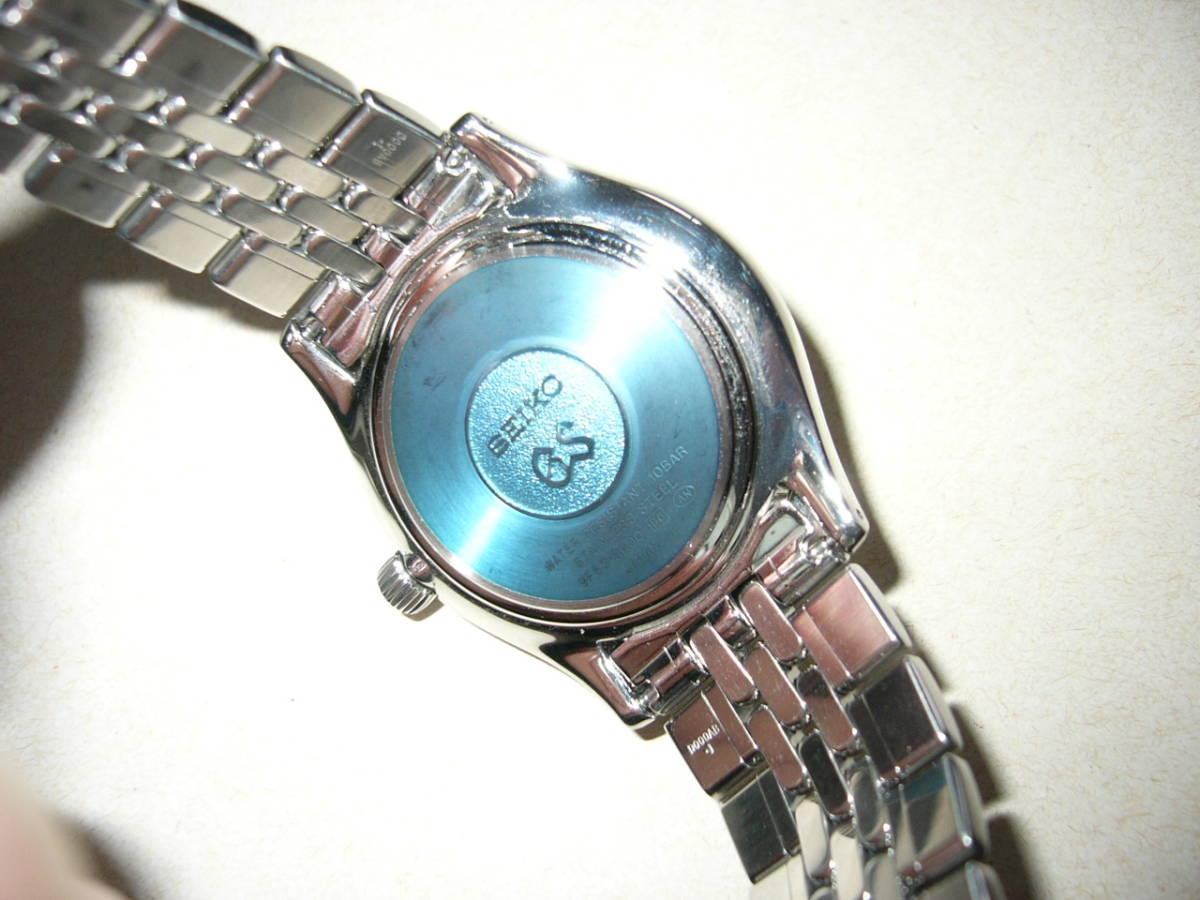 時の記念日に特別出品!Graud Seiko SBGT001 電池交換済み 9F83-9A00 旧ロゴ グリーンBOX付き_画像2