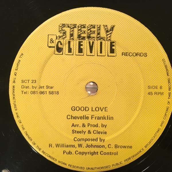 ★Chevelle Franklin/Good Love★KILLER DIGI LOVERSカバー!
