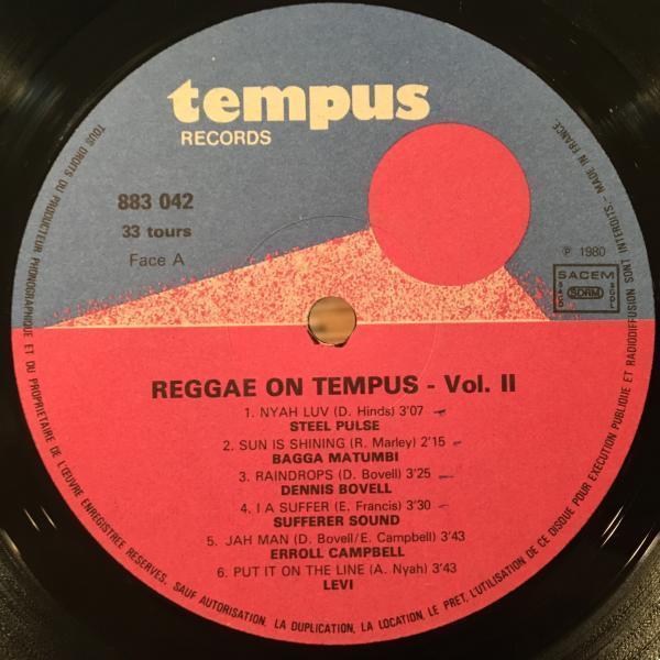 ★VA/Reggae On Tempus 2★レアコンピ!DENNIS BOVELL!_画像2