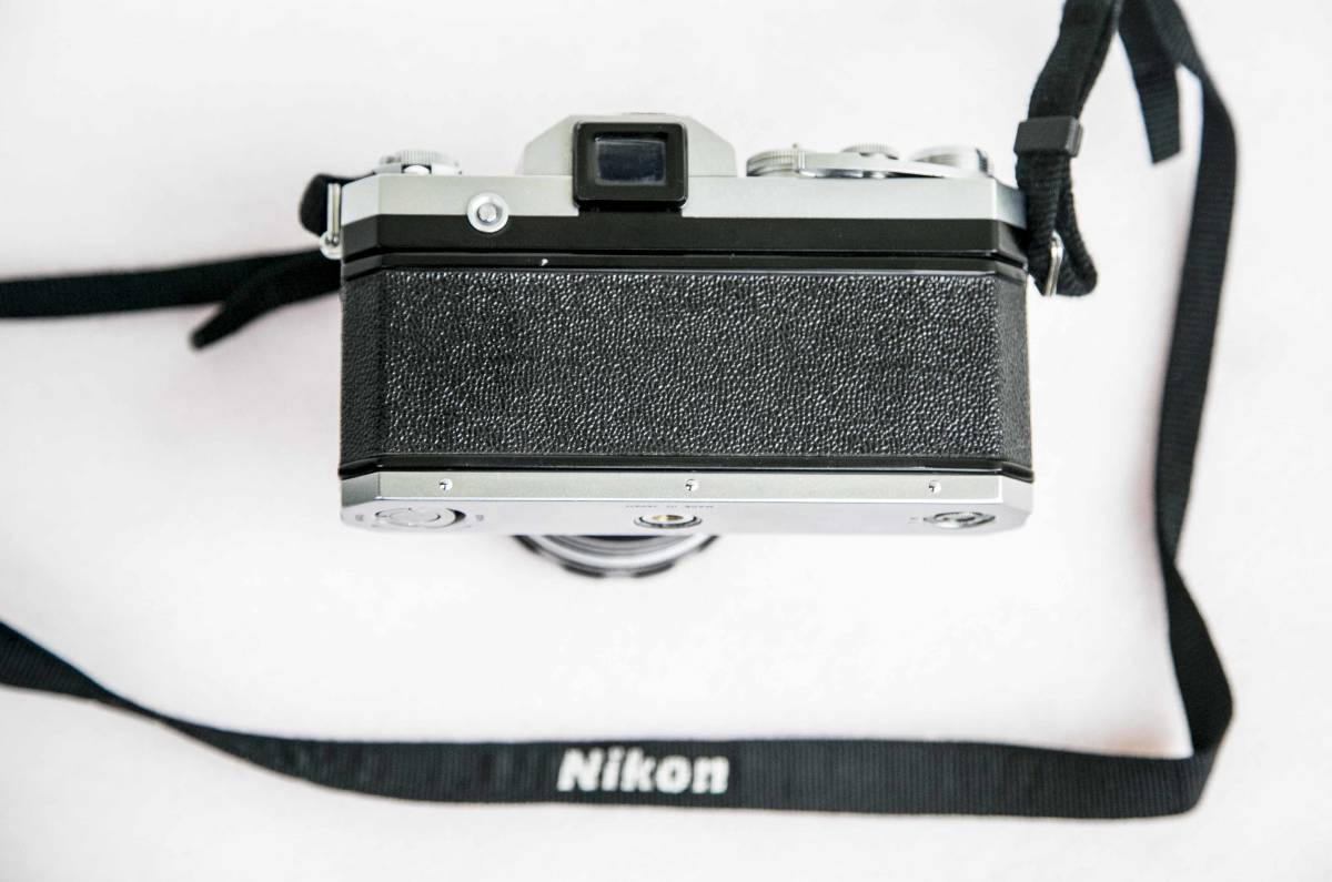 Nikon F アイレベル 58mmF1.4 レンズ付 動作確認品_画像8