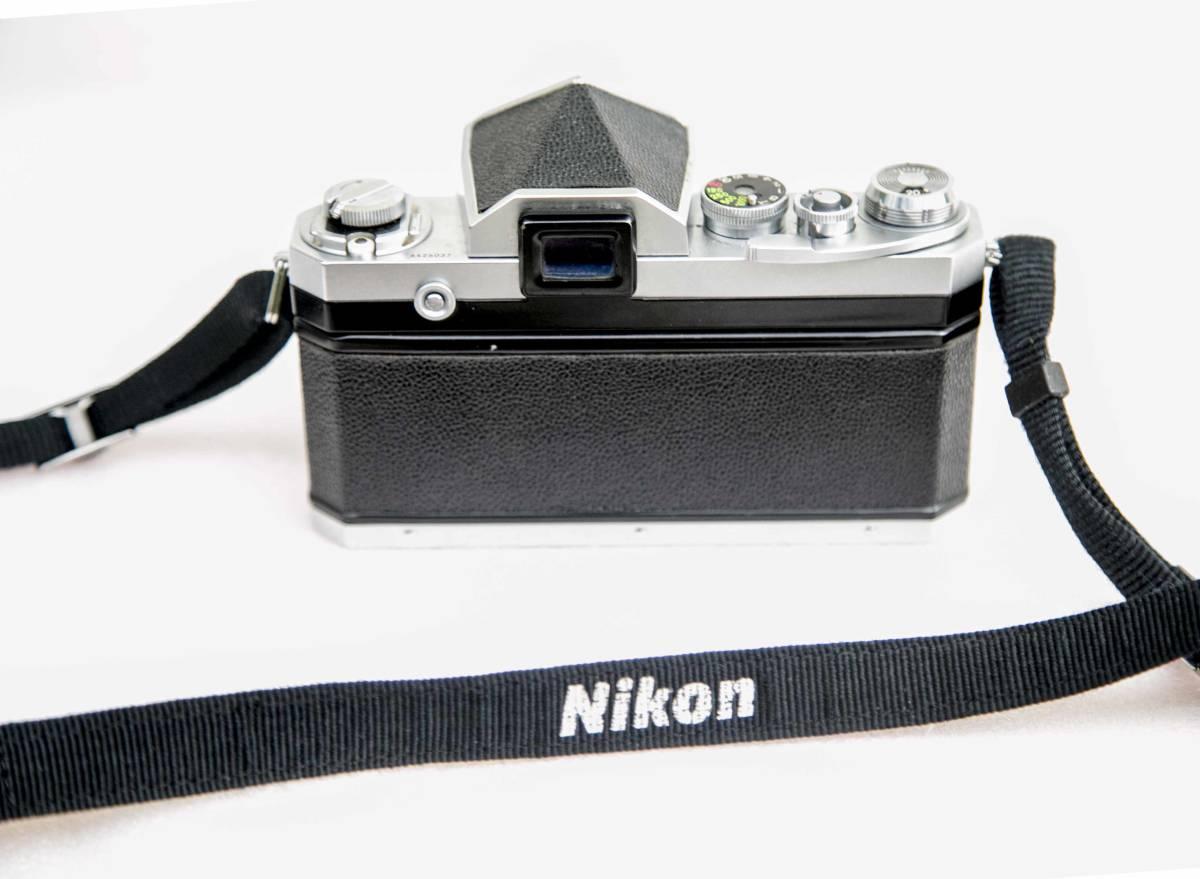 Nikon F アイレベル 58mmF1.4 レンズ付 動作確認品_画像3