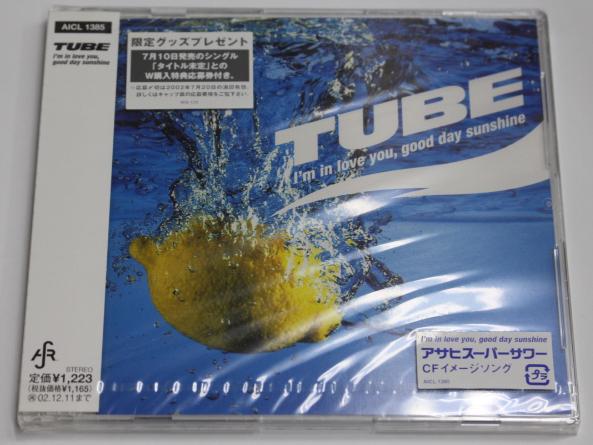 新品 TUBE 【I'm in love you,go...