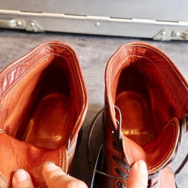 ブヒシューズ ALDENオールデン カスタムブーツ 9.5/27.5cm ハンドソーン/ノルベジェーゼ/ストレートチップブーツ/ヴィンテージブーツ_ブヒシューズ |オールデン