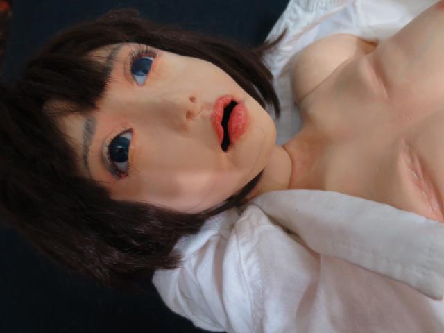 【人形館】「内田欣二生き人形B-186」ビスクドール・洋人形.球体関節人形.生き人形〝ビ〟_画像8
