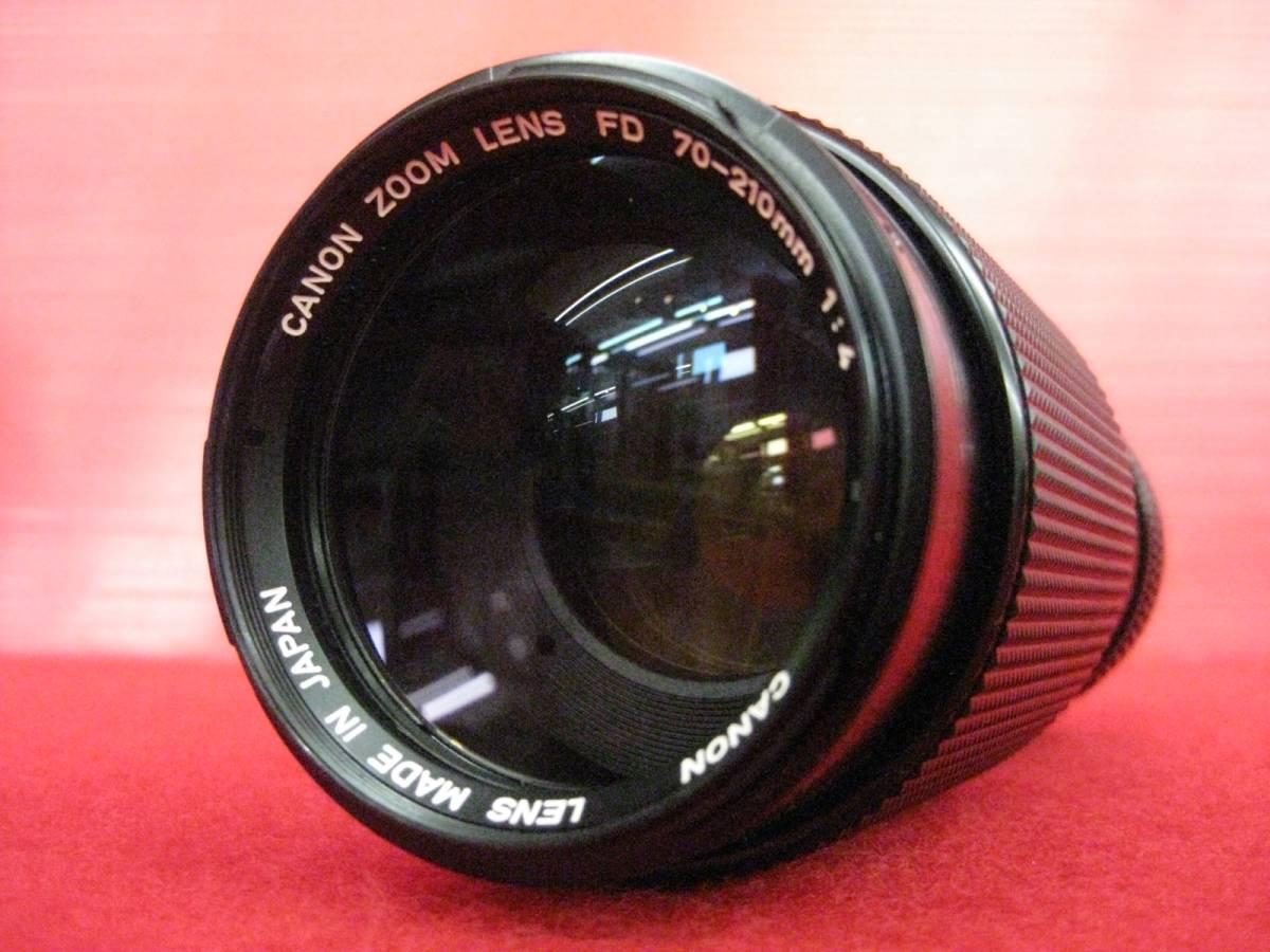 【ハッピー】Canon キャノン レンズ ZOOM New FD 70-210mm F4 φ58 533133 ジャンク扱い