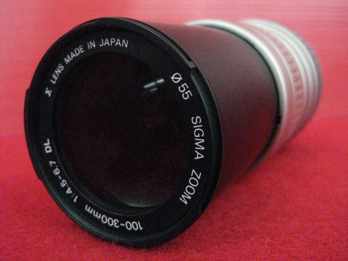 【ハッピー】SIGMA シグマ レンズ ZOOM AF 100-300mm F4.5-6.7DL φ55 キャノン用 2087481 ジャンク扱い