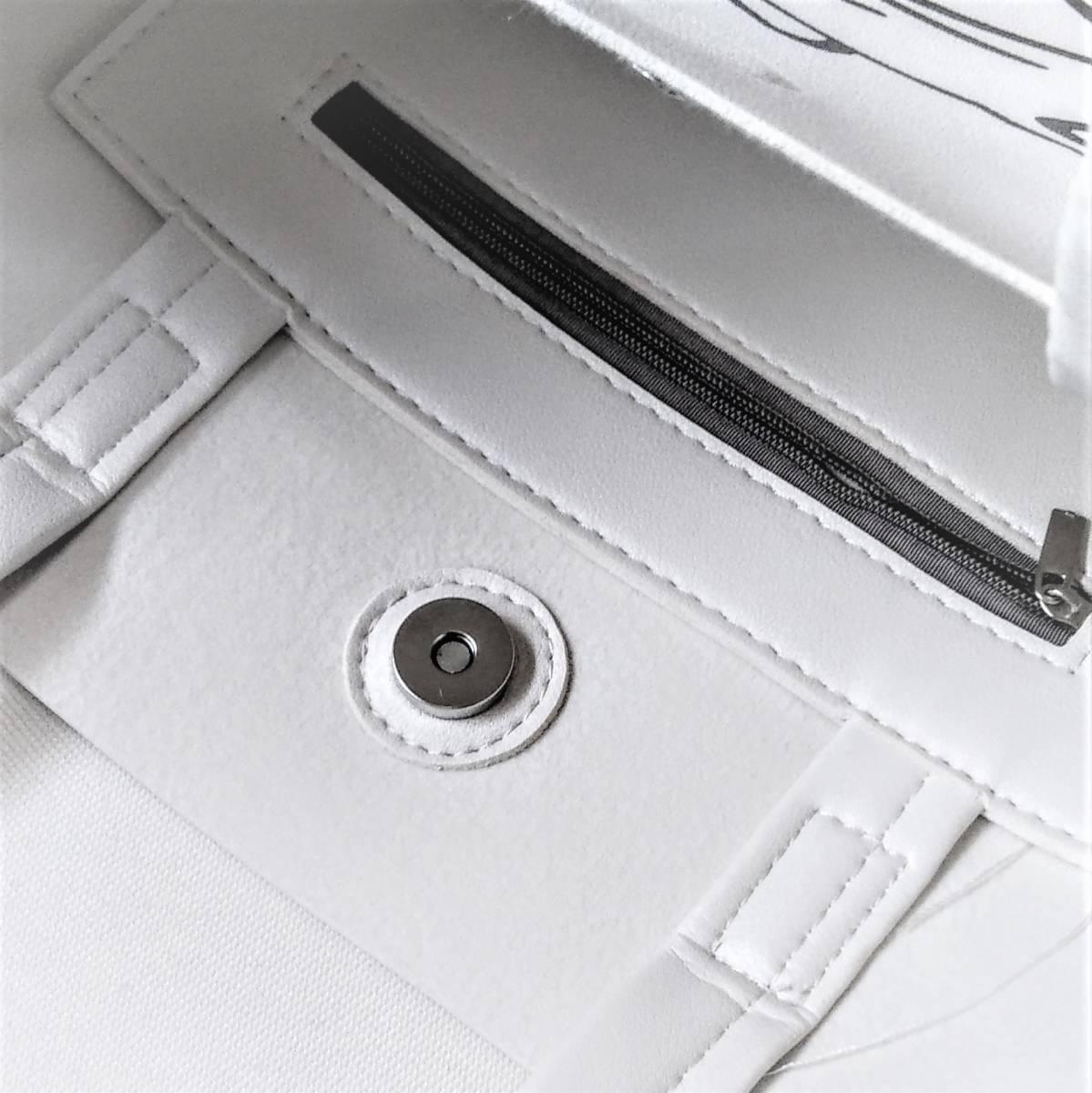 キャットプリントショルダーバッグ(ホワイト) レディース_画像6