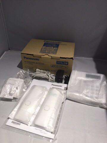 新品同様1円~ ほぼ未使用品 Panasonic パナソニック デジタルコードレス電話機 RU・RU・RU VE-GDW54DL-W ホワイト 80サイズ_画像2