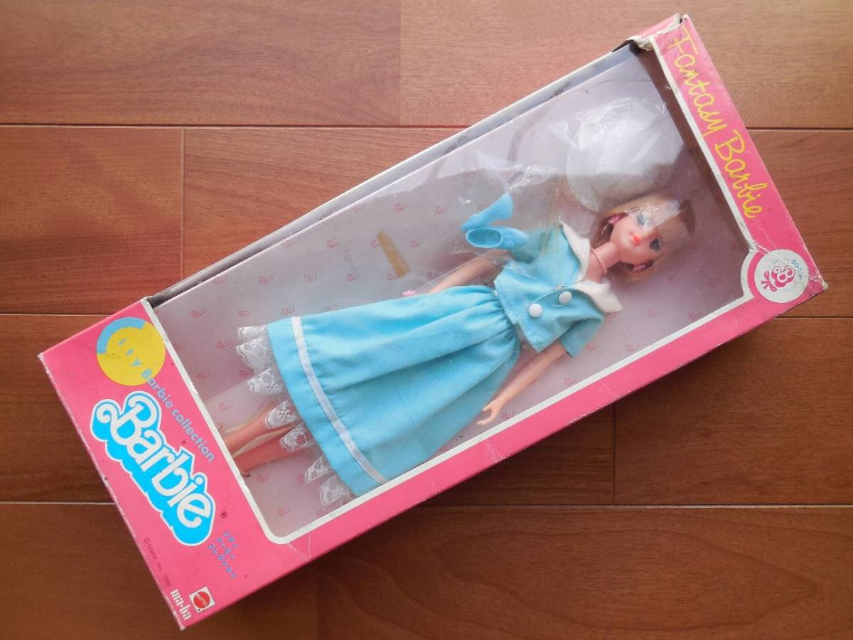 ★1985年1986年 タカラ マテル バービー 4種4箱 ドリームバービー フルーツキッスバービー シティバービーコレクション ファッションドール_画像4