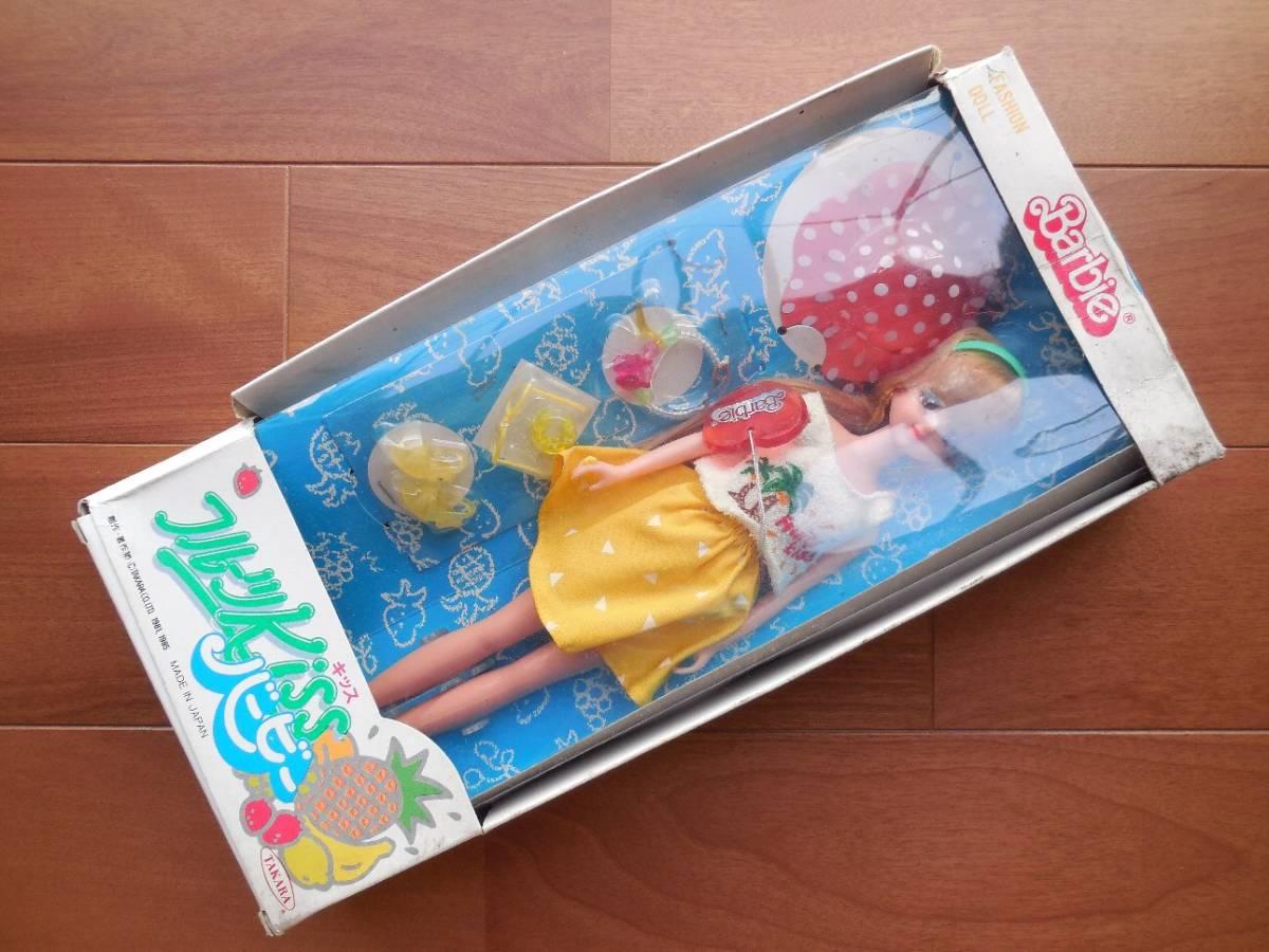 ★1985年1986年 タカラ マテル バービー 4種4箱 ドリームバービー フルーツキッスバービー シティバービーコレクション ファッションドール_画像6