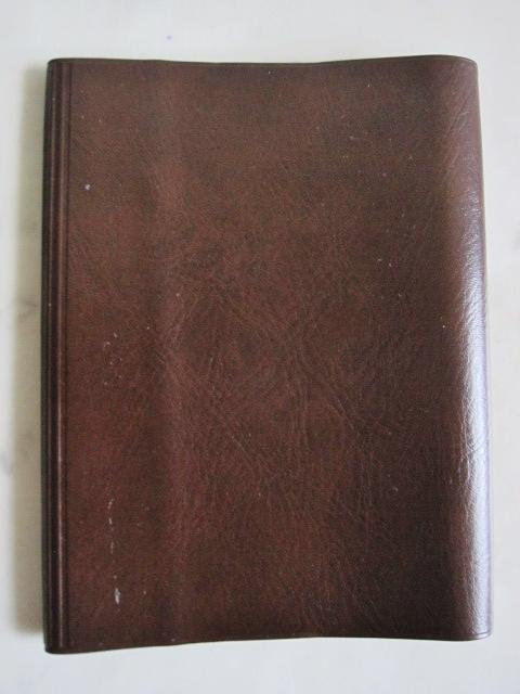 綺麗め 文具 読書 小説 手帳 ブックカバーセット ブラウン しっかり素材 レッド 2点セット 特 得_画像5
