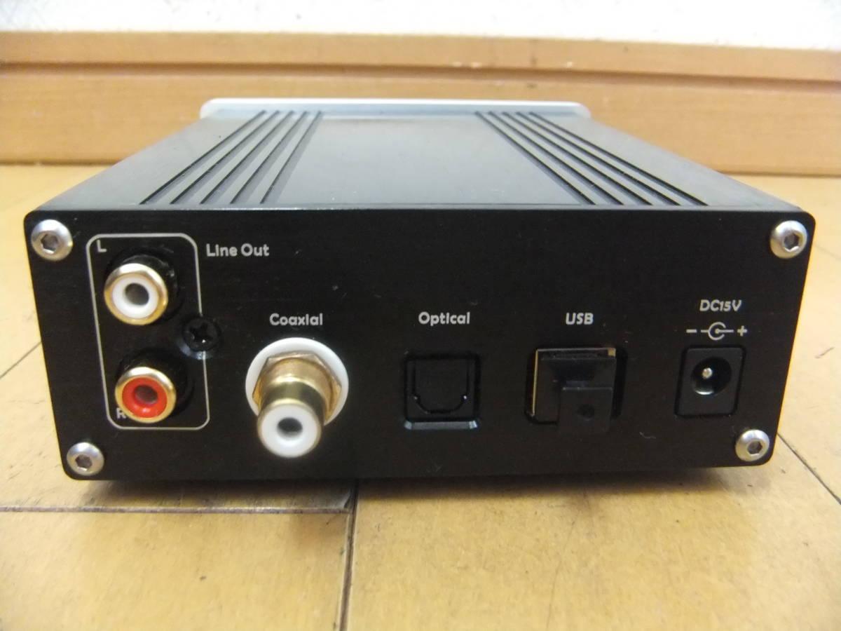 ★TOPPING/トッピング[D20]デジタルアンプ?/Mini 96kHz DAC/ジャンク_画像6