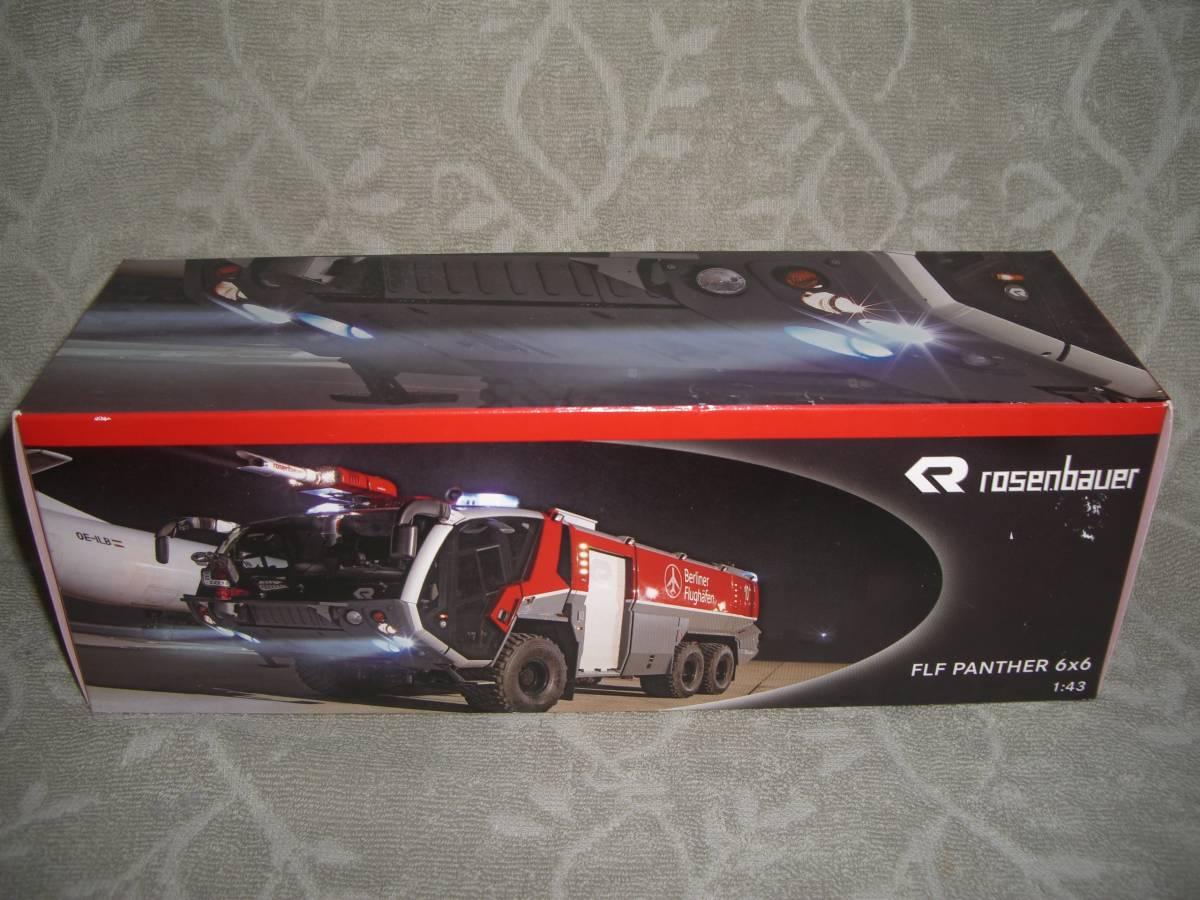 Wiking vi - King 1/43 Rosenbauer ARFF-Vehicle Panther 6x6