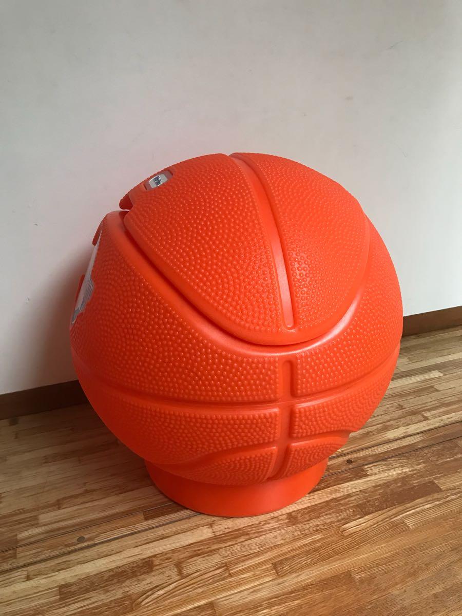 レア little tikes リトルタイクス バスケットボール型 USA製 おもちゃ箱 トイボックス おしゃれにお片付け 収納 ボックス BOX_画像2