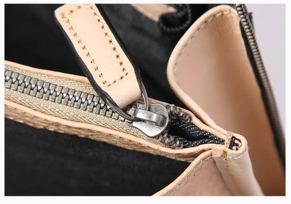 【買い付け一点物シリーズ】本革イタリアンレザー ビジネスバッグ ブリーフケース 旅行鞄 ブラック_画像5