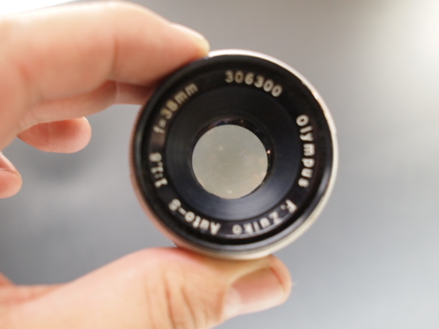 ◆OLYMPUS【PEN-FV】+レンズ【F.ZUIKO Auto-S 1:1.8 f=38mm】 USED品 オリンパス_画像9