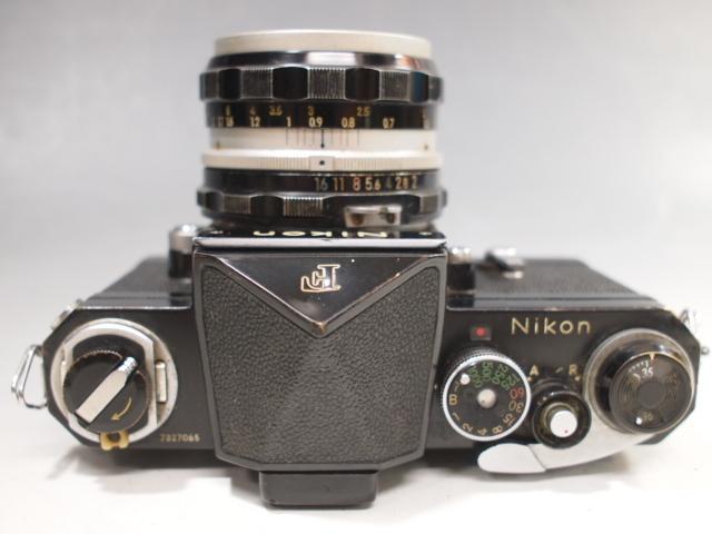 ◆Nikon【F】アイレベル+レンズ【NIKKOR-H Auto 1:2 f=50mm】現状・ジャンク品 ニコン_画像4