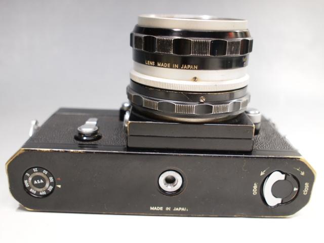 ◆Nikon【F】アイレベル+レンズ【NIKKOR-H Auto 1:2 f=50mm】現状・ジャンク品 ニコン_画像5
