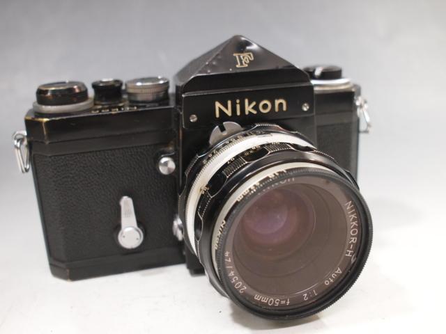 ◆Nikon【F】アイレベル+レンズ【NIKKOR-H Auto 1:2 f=50mm】現状・ジャンク品 ニコン_画像2