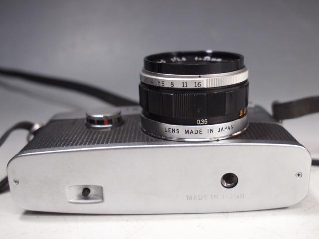 ◆OLYMPUS【PEN-FV】+レンズ【F.ZUIKO Auto-S 1:1.8 f=38mm】 USED品 オリンパス_画像5