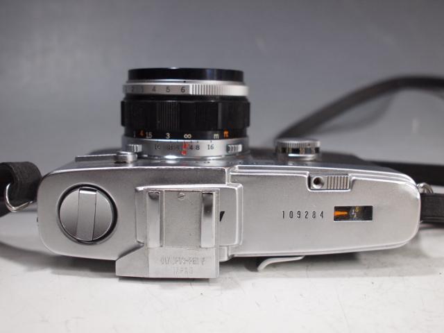◆OLYMPUS【PEN-FV】+レンズ【F.ZUIKO Auto-S 1:1.8 f=38mm】 USED品 オリンパス_画像4