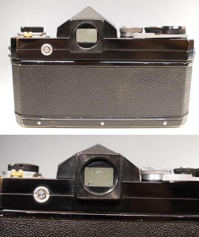 ◆Nikon【F】アイレベル+レンズ【NIKKOR-H Auto 1:2 f=50mm】現状・ジャンク品 ニコン_画像6