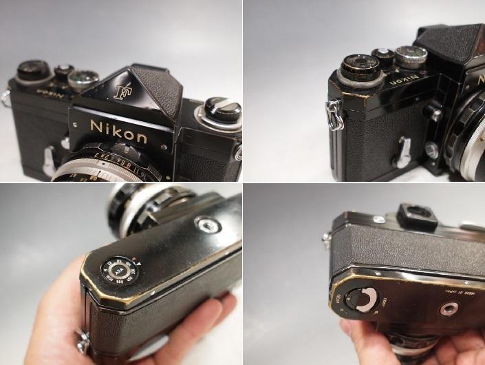◆Nikon【F】アイレベル+レンズ【NIKKOR-H Auto 1:2 f=50mm】現状・ジャンク品 ニコン_画像10