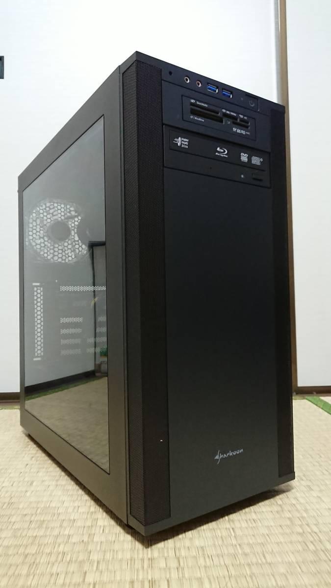 i7-3770K/GTX980Ti/16G/新SSD240G+HDD2T/水冷/ブルーレイ/Windows10+office2010